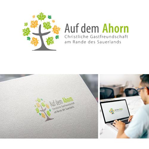 Logo-Design für christliche Freizeit- und Bildungsstätte