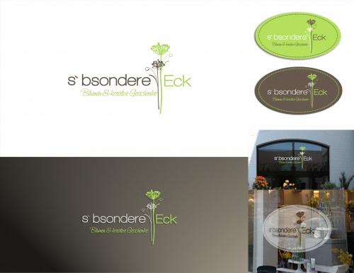 Blumenladen sucht Logo