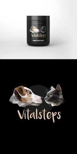 Logo-Design für hochwertige Nahrungsergänzungsmittel für Tiere