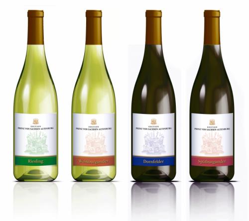 Ontwerp voor wijnetiket