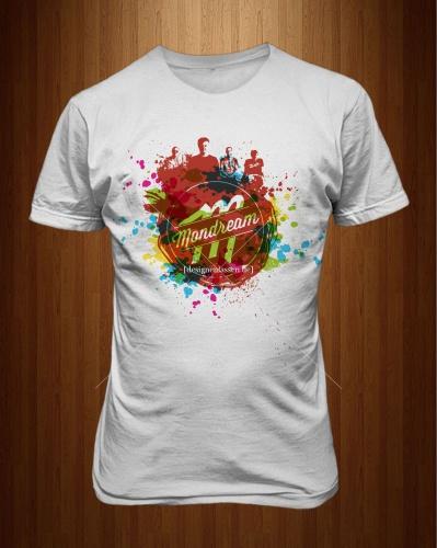 Rock/ Pop Band 'Mondream' sucht T-Shirt Design