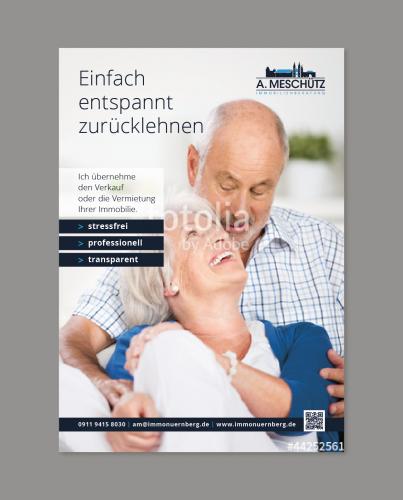 Plakat-Design für Immobilienmakler