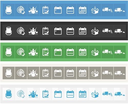Icon-Design für Webapp im Bereich Veranstaltungstechnik/Bands/DJs