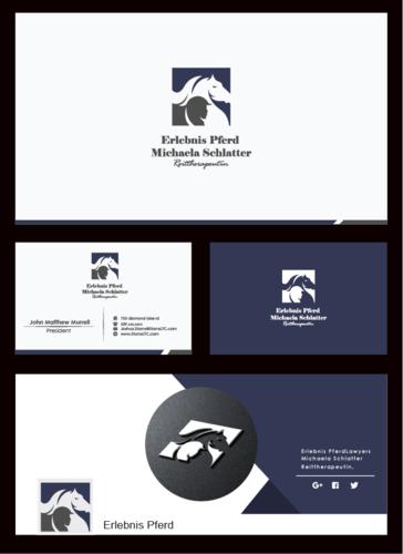 Logo & Visitenkarte für Reittherapie