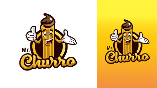 Logo-Design für Churros