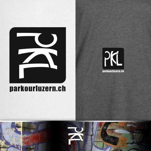 Parkour Team Logo Design