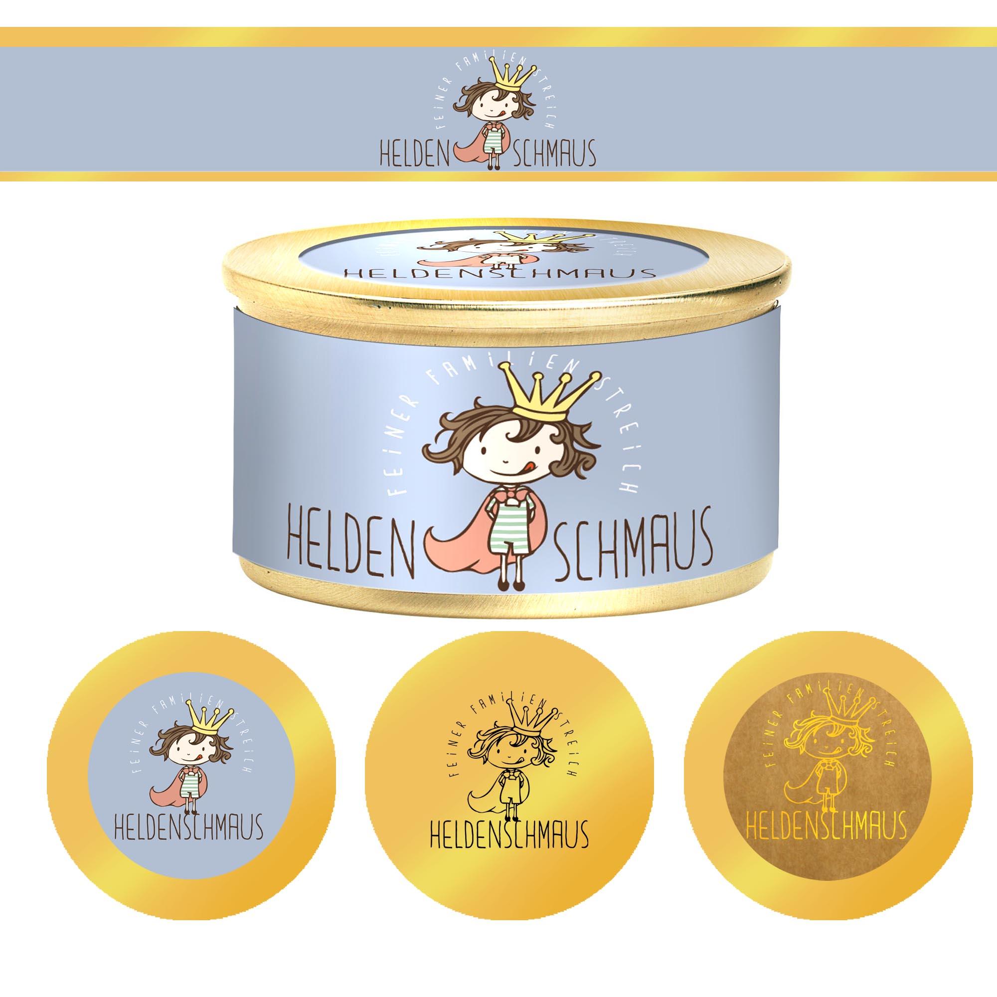Logo für einen Feinkost Brotaufstrich für Familien