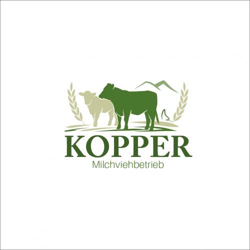 Logo-Design für Milchviehbetrieb