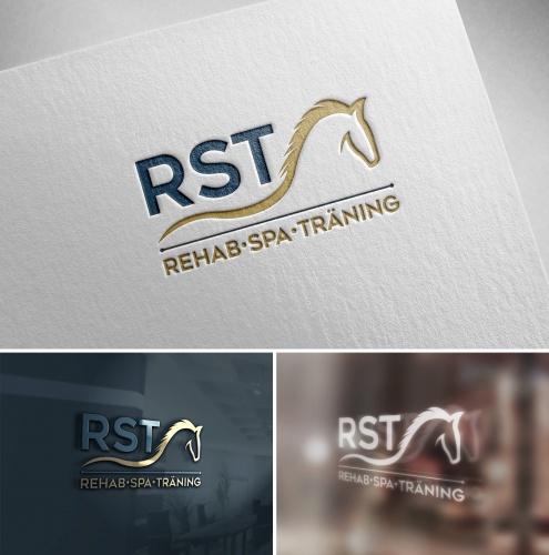 Trainings- und Rehabilitierungs Zentrum für Pferde in Schweden sucht Logo