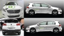 Autobeschriftung Internetagentur VW Tiguan Sport & Style R-Line weiß