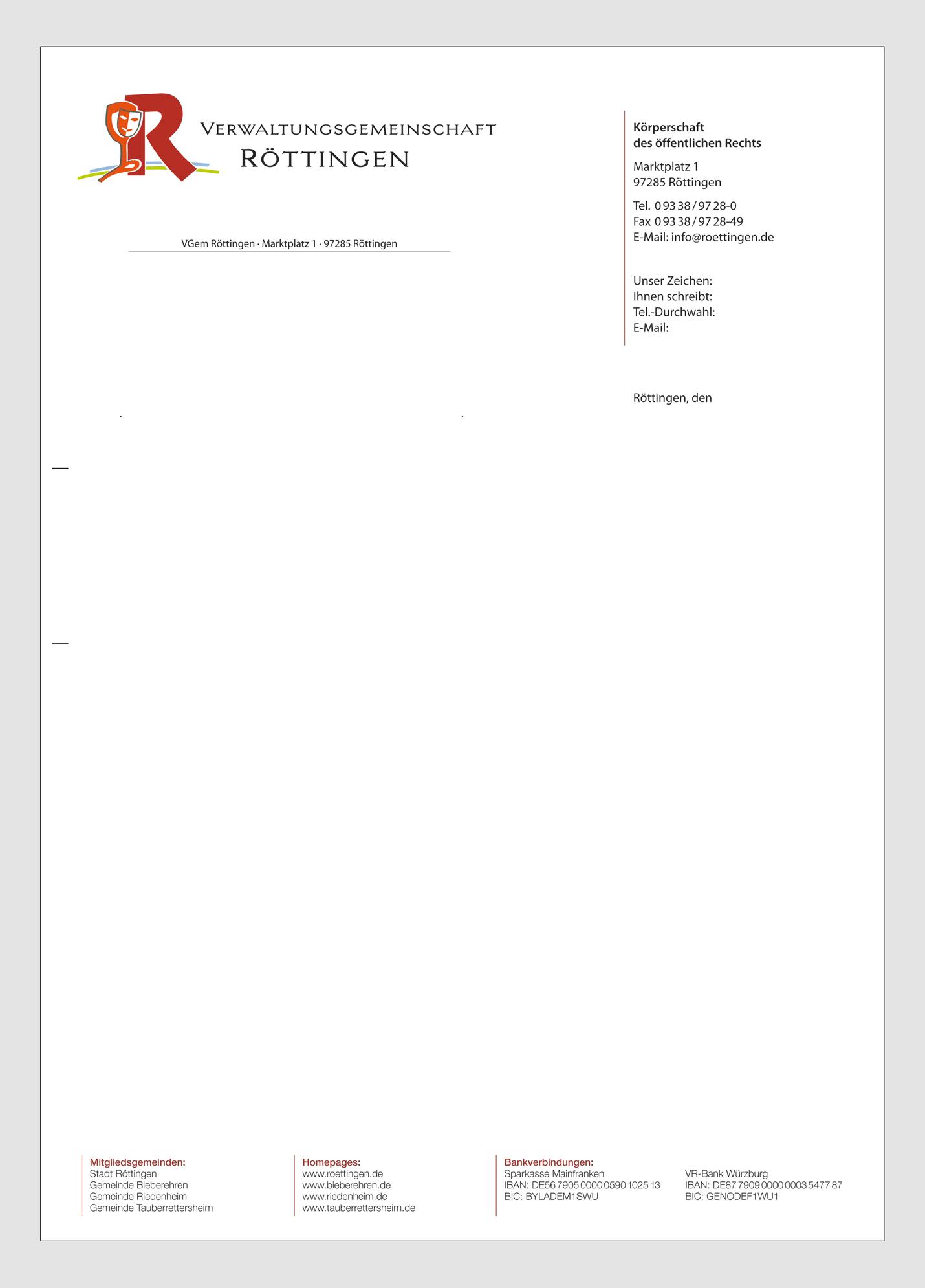 Design 6 Von Setzermeister Für Projekt Briefkopf Für Verwaltung Im
