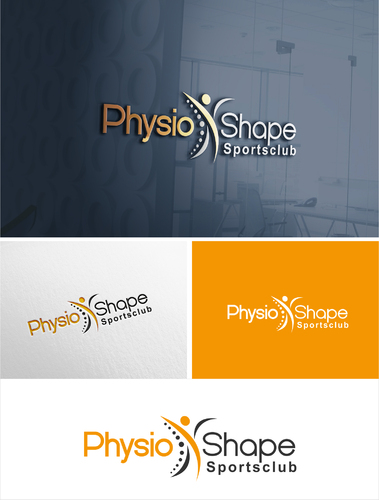 Logo-Design für Fitnessstudio