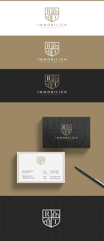 Logo Visitenkarte Für Rt Immobilien Logo Business Card