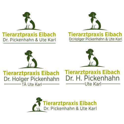 Klares Logo-Design für Kleintierpraxis