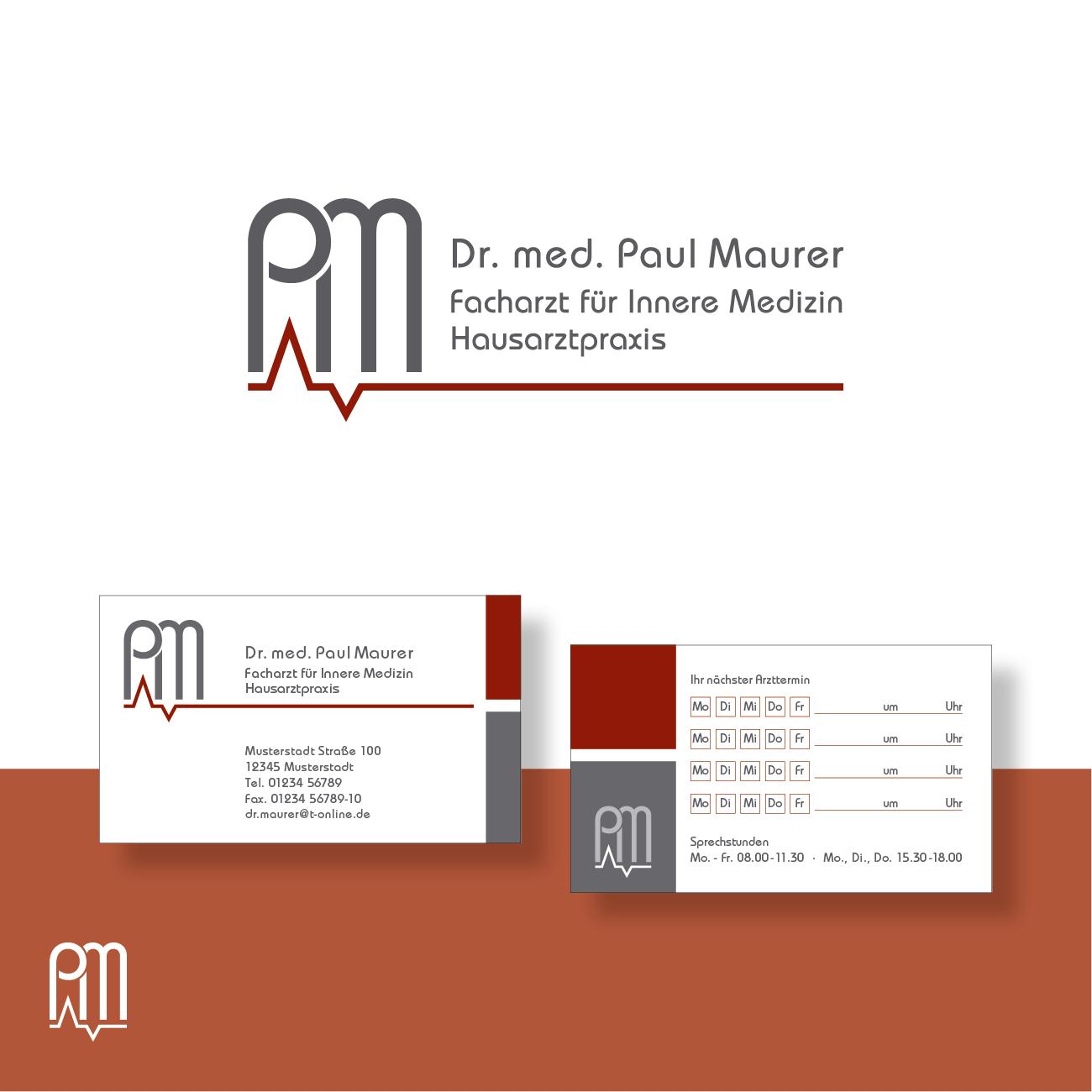 Logo Und Visitenkarte Für Arztpraxis Logo Design