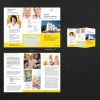 Flyerdesign DIN A4 Lang 6-seitig Wickelfalz für Seniorenhilfsverband