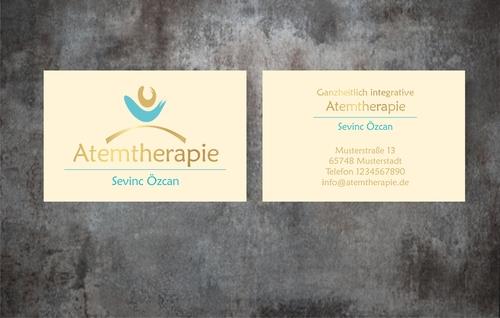 Logo & Visitenkarte für Atemtherapie