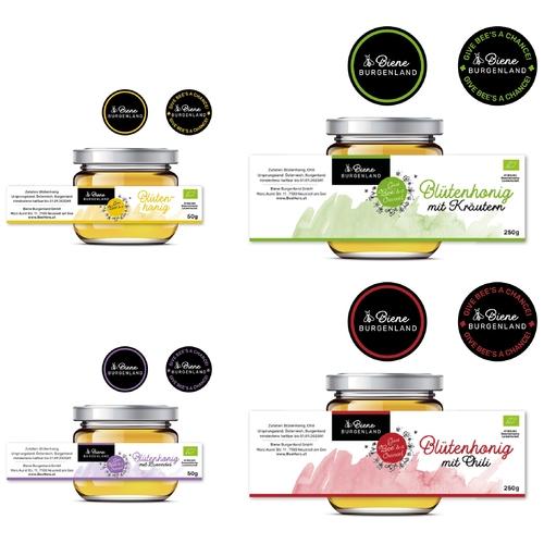 Honig-Etikett gesucht
