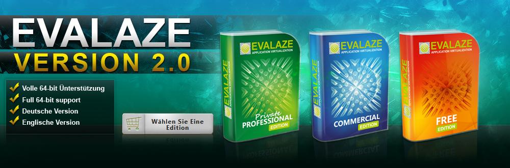 Evalaze application virtualization   versionsvergleich.