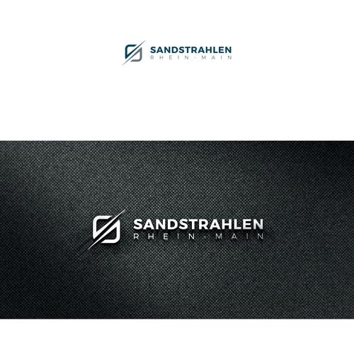 Unternehmen für Sandstrahlen, Lackieren & Verkauf von Maschinen benötigt Logo-Design