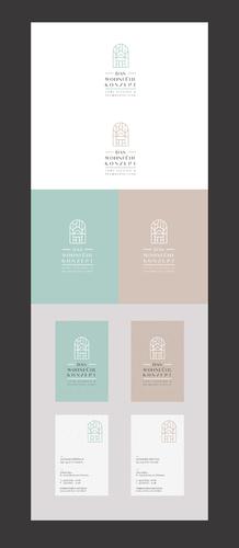 Logo-Design für Home Staging & Verkaufsförderung von Immobilien