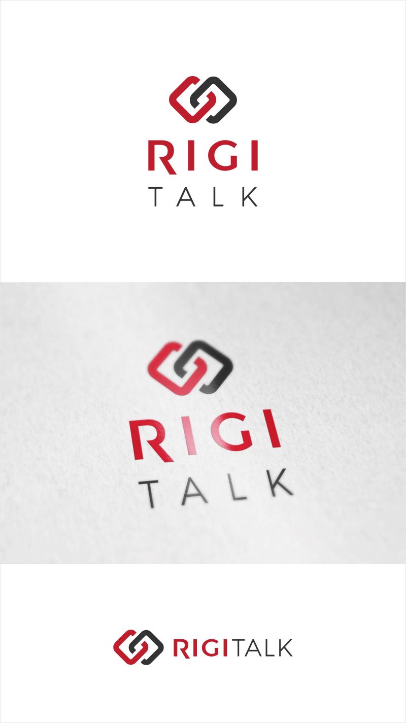 """Logo-Design für eine Veranstaltungsreihe: """"RIGI Talk"""" (Business und Network Event)"""