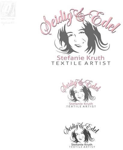 Frau Seidig sucht ein Logo
