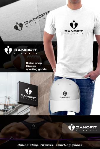 Logo-Design für Fitness-Onlineshop