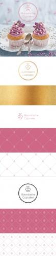 Logo-Design für himmlische Cupcakes