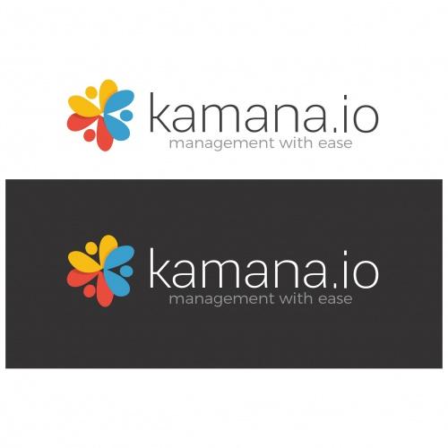 Logo-Design (kamana.io) für ein web-basiertes Projektmanagement / for a web based project management application