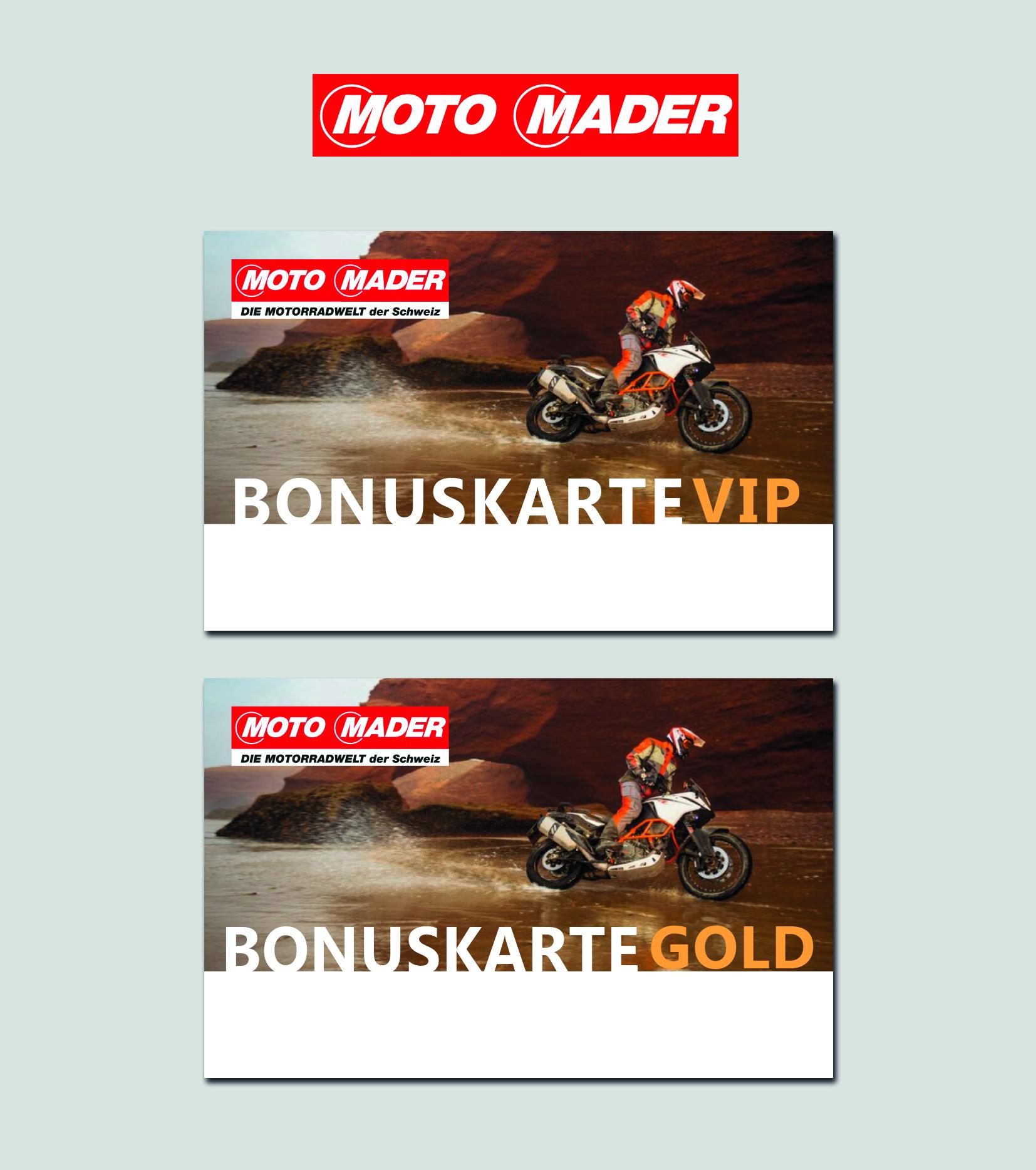 Kundenkarten Für Motorradshop » Gutschein-Design